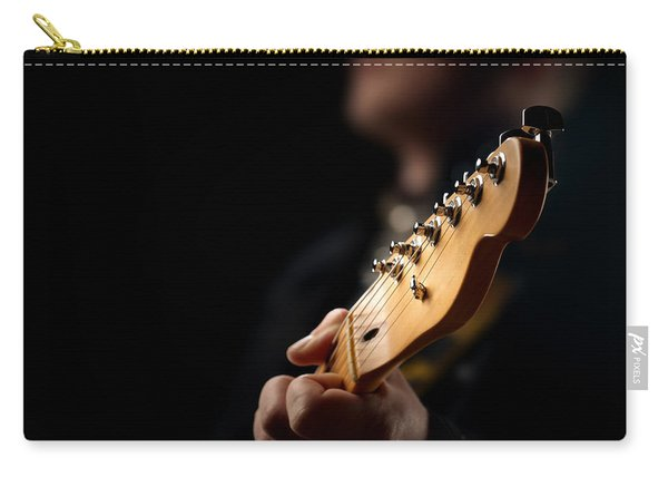 Guitarist Close-up Carry-all Pouch