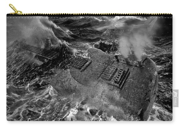 Guitarwreck Grayscale Carry-all Pouch