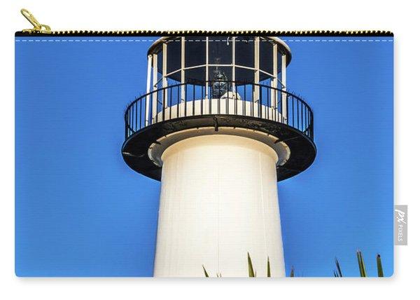 Gulf Coast Lighthouse Seascape Biloxi Ms 3819a Carry-all Pouch