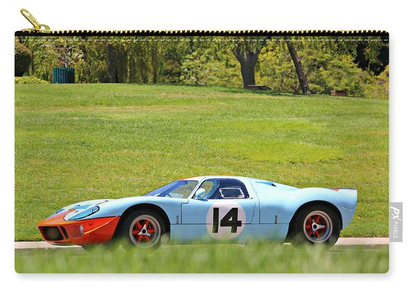 Gulf Mirage Ford Gt40 Carry-all Pouch