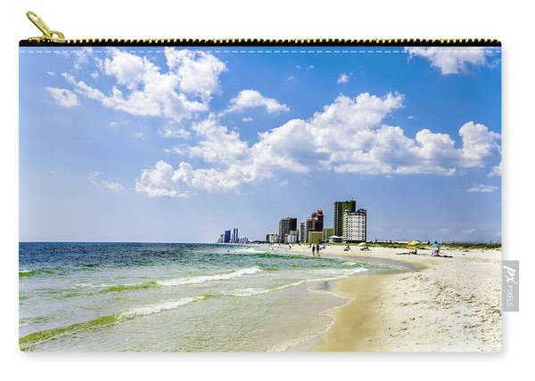 Gulf Shores Al Beach Seascape 1746a Carry-all Pouch