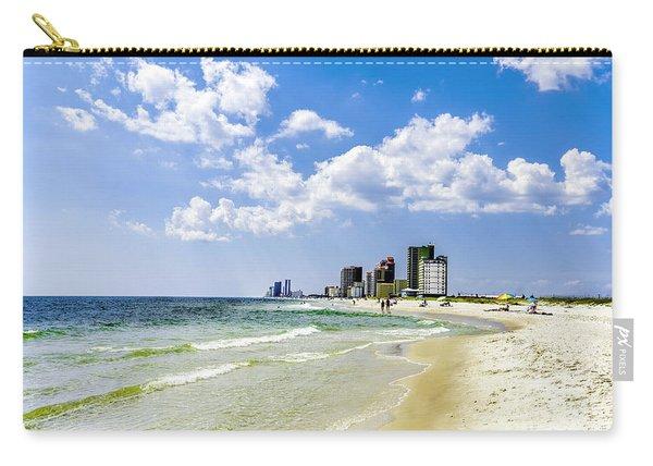 Gulf Shores Al Beach Seascape 1746a Carry-all Pouch
