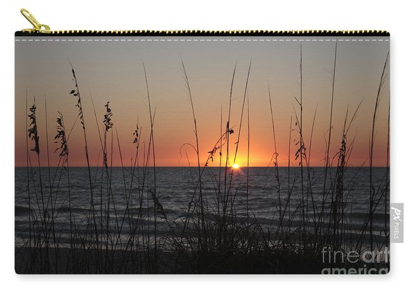 Gulf Sunset In Florida Carry-all Pouch