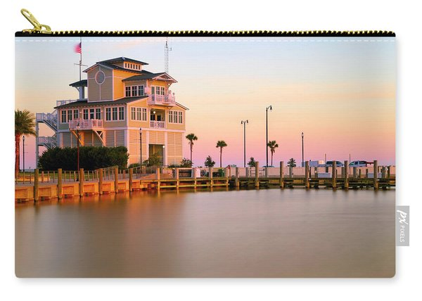 Gulfport Harbor Master's Office - Mississippi - Sunset Carry-all Pouch