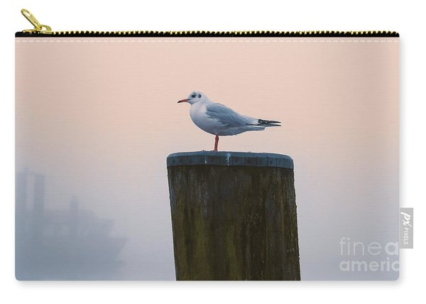 Gull And Fog Carry-all Pouch