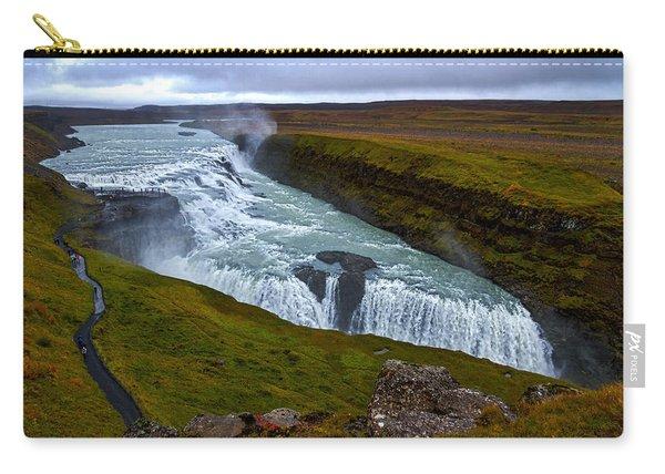 Gullfoss Waterfall #2 - Iceland Carry-all Pouch