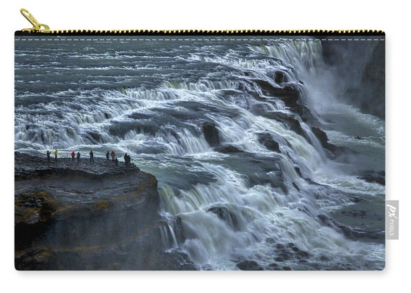 Gullfoss Waterfall #6 - Iceland Carry-all Pouch