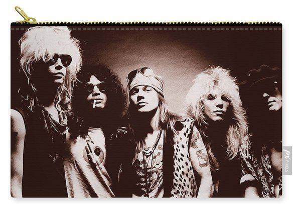 Guns N' Roses - Band Portrait 02 Carry-all Pouch
