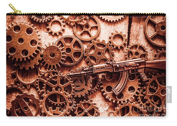 Guns Of Machine Mechanics Carry-all Pouch