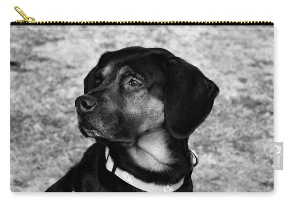 Gus - Black And White Carry-all Pouch