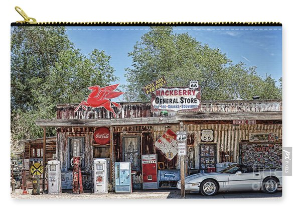 Hackberry General Store On Route 66, Arizona Carry-all Pouch