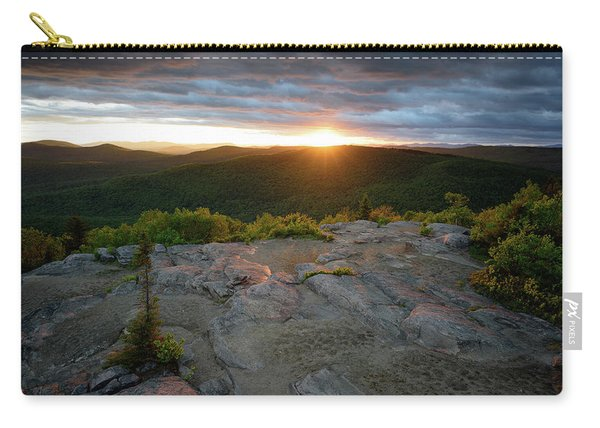 Hadley Mountain Sunset Carry-all Pouch