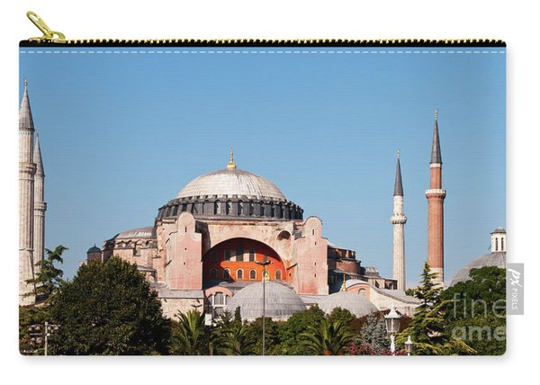 Hagia Sophia Blue Sky 03 Carry-all Pouch