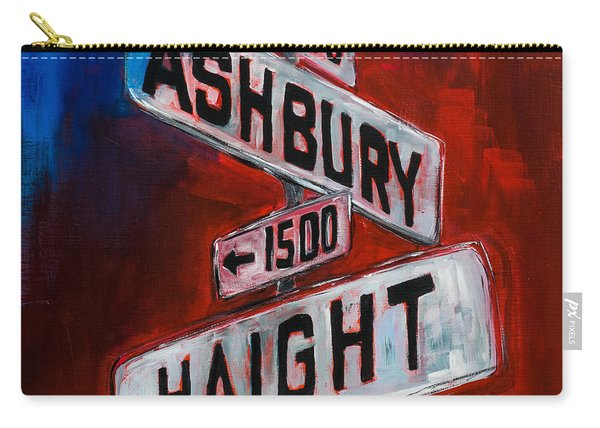 Haight And Ashbury Carry-all Pouch