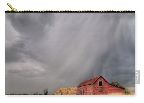 Hail Shaft And Montana Barn Carry-all Pouch