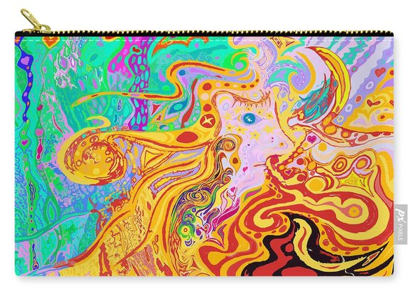 Hair Of The Divine Universe Carry-all Pouch