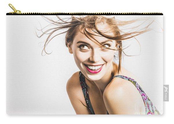 Hair Salon Portrait Carry-all Pouch