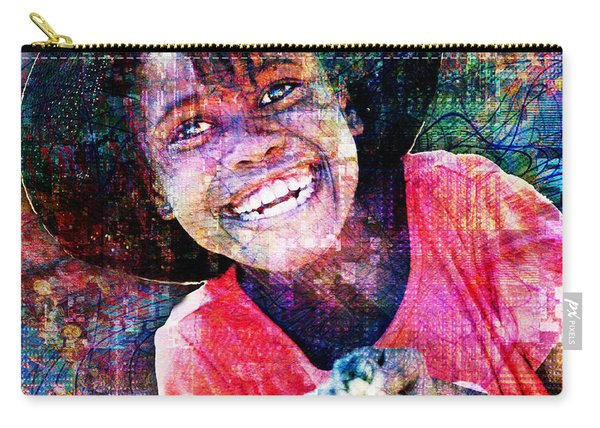 Haitian Daughter Carry-all Pouch