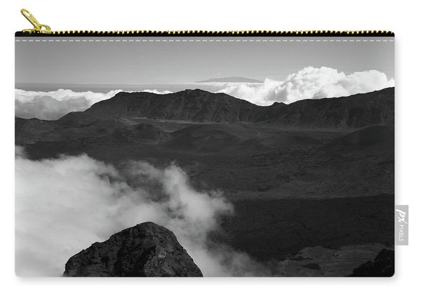 Haleakala B/w Carry-all Pouch