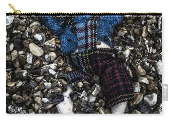 Half Buried Doll Carry-all Pouch