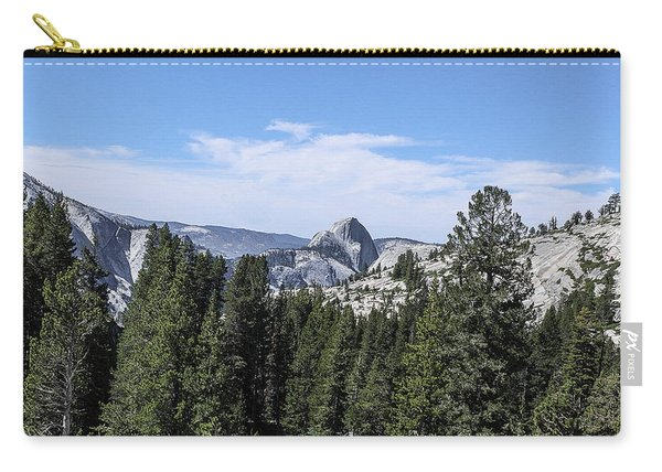Half Dome From Olmstead Point Yosemite Valley Yosemite National Park Carry-all Pouch