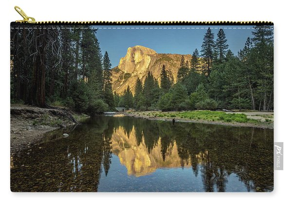 Half Dome From  The Merced Carry-all Pouch