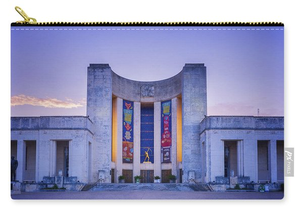 Hall Of State Texas Carry-all Pouch