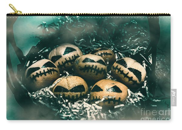 Halloween Picnic In The Dark Carry-all Pouch