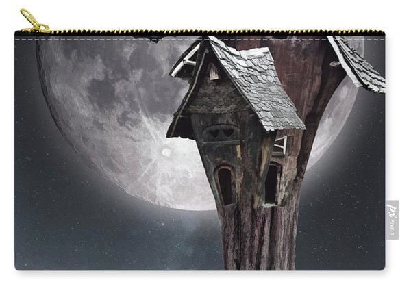 Halloween Witch House 1 Carry-all Pouch