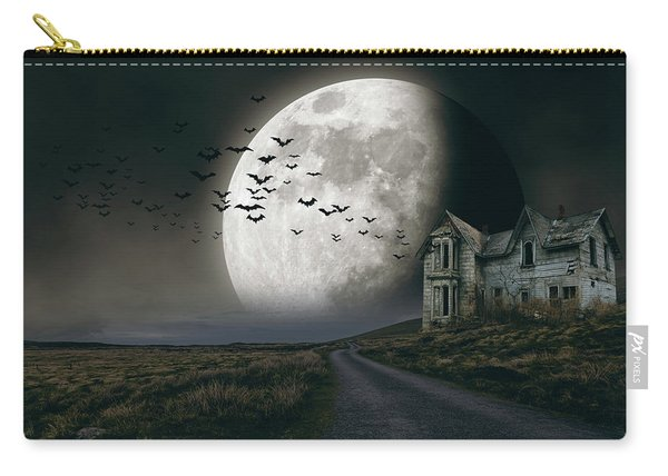 Halloween Witch House 3 Carry-all Pouch