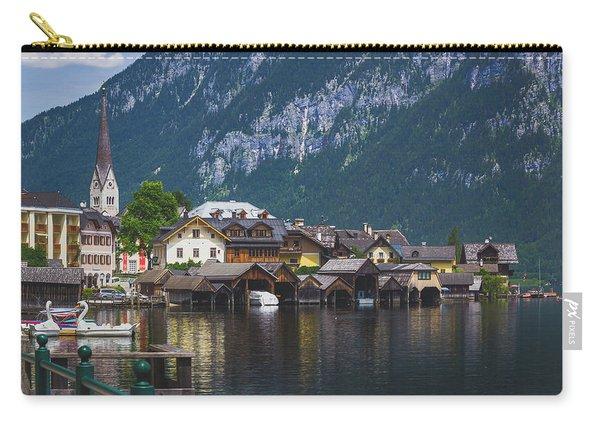 Hallstatt Lakeside Village In Austria Carry-all Pouch