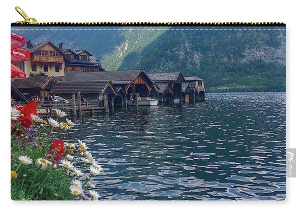 Hallstatt Swan Carry-all Pouch