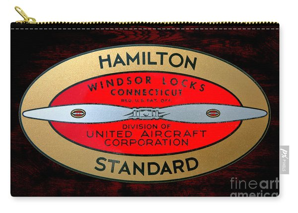 Hamilton Standard Windsor Locks Carry-all Pouch