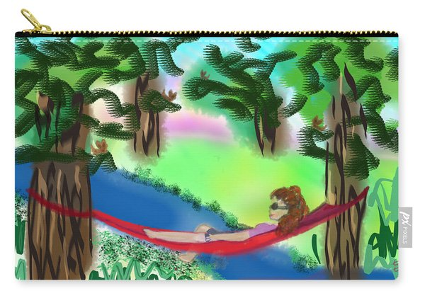Hammock Under The Chihuahua Trees Carry-all Pouch