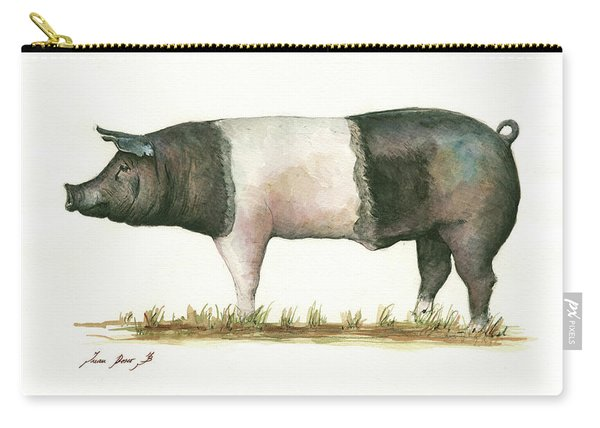 Hampshire Pig Carry-all Pouch
