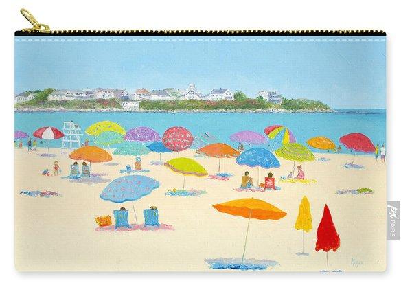 Hampton Beach Umbrellas Carry-all Pouch
