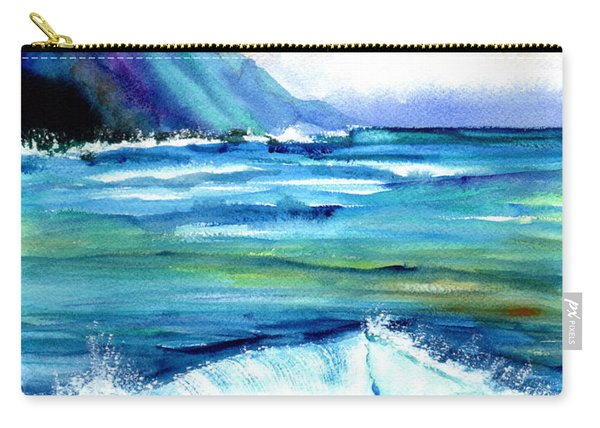Hanalei Sea Carry-all Pouch