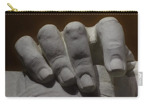 Hand Of Lincoln Carry-all Pouch