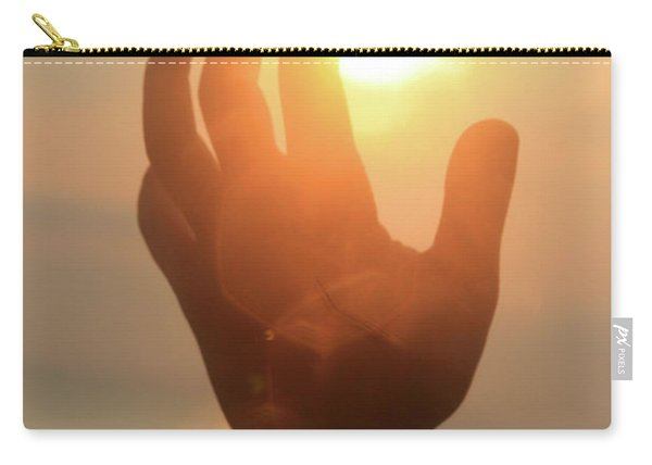 Hand Reaching Fore The Sun Carry-all Pouch
