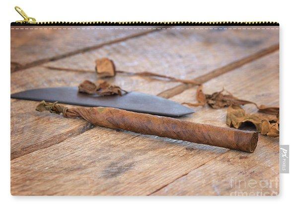Handmade Cigar Carry-all Pouch
