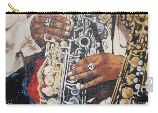 Blaa Kattproduksjoner        Hands Of Music - 2 Carry-all Pouch