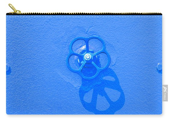 Handwheel - Blue Carry-all Pouch