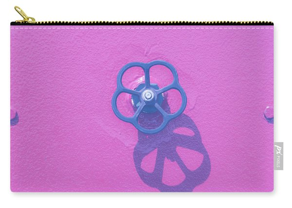 Handwheel - Pink Carry-all Pouch