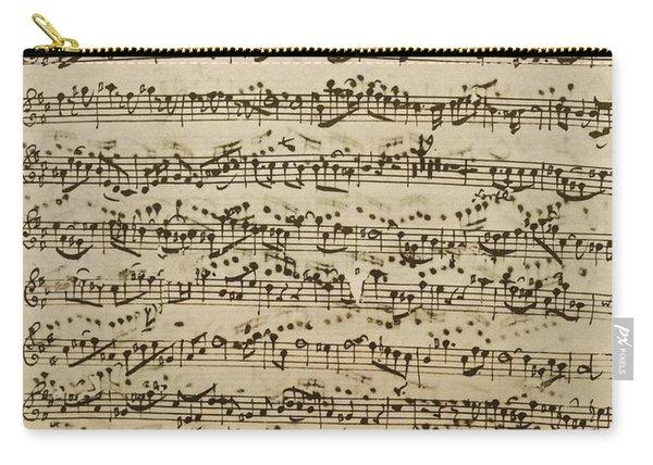 Handwritten Score For Mass In B Minor Carry-all Pouch