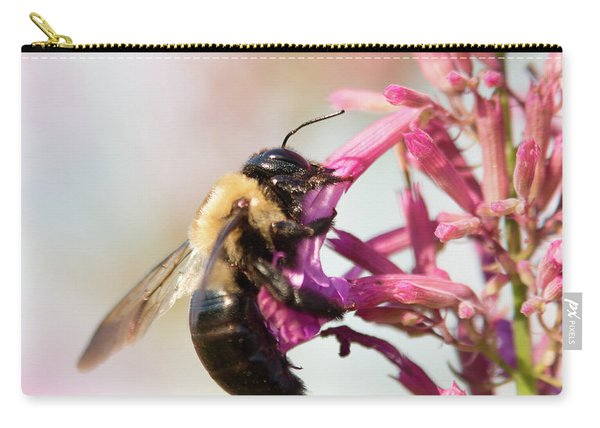 Carry-all Pouch featuring the photograph Hang In There by Brian Hale