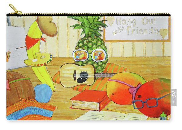 Hang Out With Friends Carry-all Pouch
