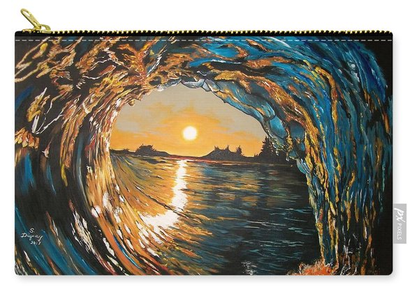 Hang Ten In Tofino Carry-all Pouch