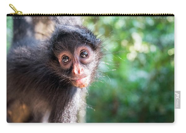Hanging Spider Monkey Carry-all Pouch