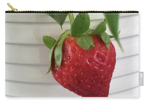 Hanging Strawberry Carry-all Pouch