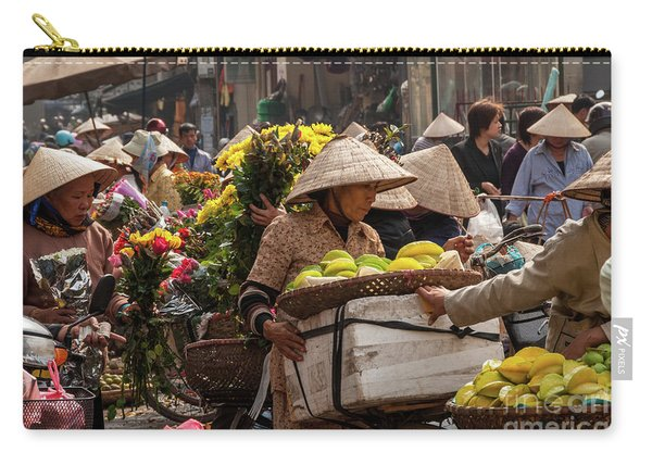 Hanoi Market 02  Carry-all Pouch